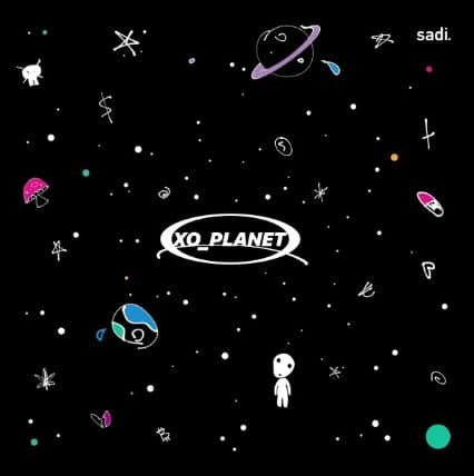 Sadi Gent – XO_Planet Album Cover