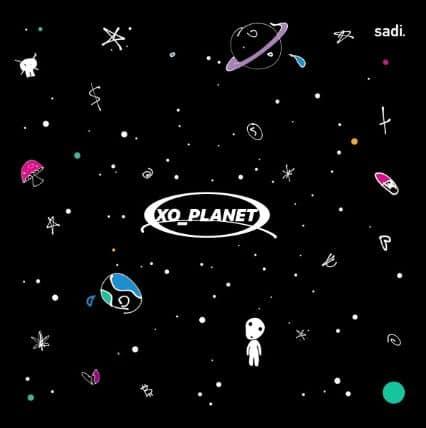Sadi Gent – XO_Planet Album Cover