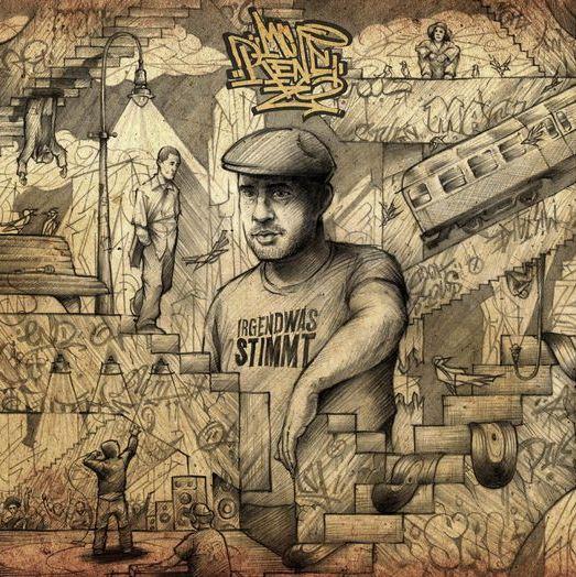 MC Rene – Irgendwas stimmt Album Cover