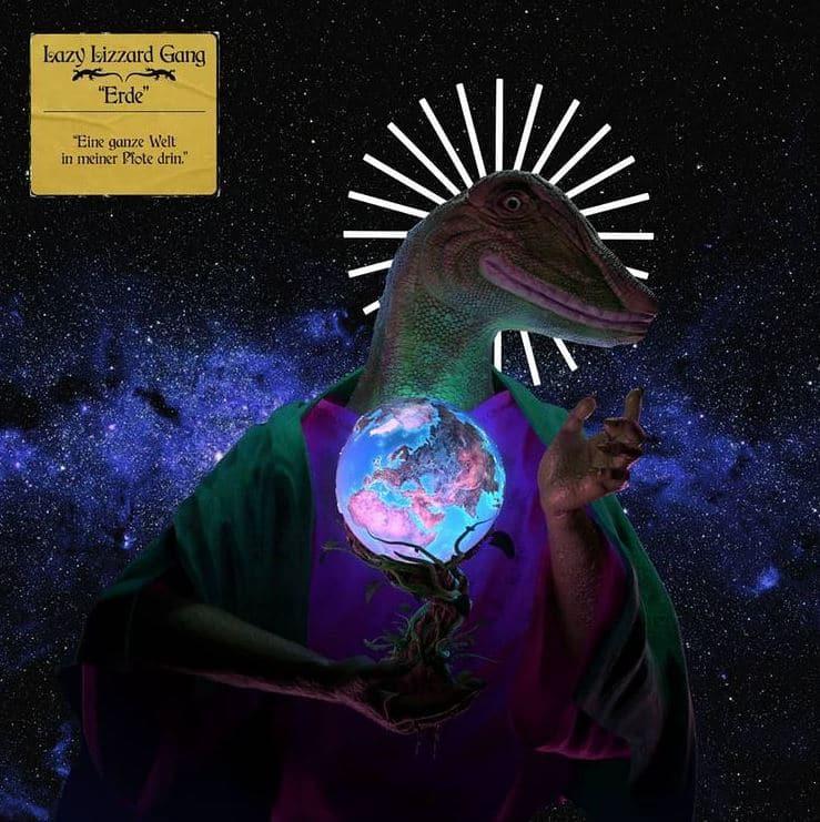 Lazy Lizzard Gang – Erde Album Cover