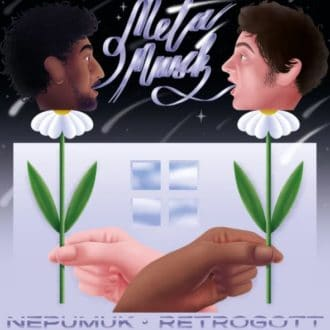 Nepumuk x Retrogott - Metamusik Album Cover