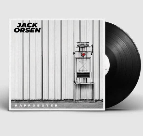 Jack Orsen – Raproboter Album Cover