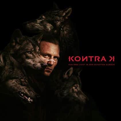 Kontra K – Aus dem Licht in den Schatten zurück Album Cover